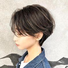 Asian Short Hair, Asian Hair, Girl Short Hair, Short Hair Cuts, Tomboy Hairstyles, Girl Haircuts, Summer Hairstyles, Pretty Hairstyles, Shot Hair Styles