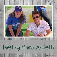 Meeting Marco Andretti: Casey's General Store, Ethanol Pump Promotion, Iowa Corn, Newton, Iowa, Iowa Corn Indy 300