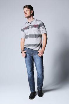 Camisa polo Bivik Camisa Polo, Normcore, Style, Fashion, Swag, Moda, Fashion Styles, Fashion Illustrations, Outfits