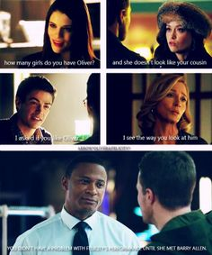 #Arrow #Olicity... and this dear people is the writers teasing us.. this is cruel hahaha but i love it