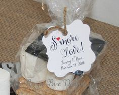 Smore Love. S'more Love Favor Tags