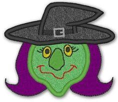 witch applique lynnie pinnie - Google Search