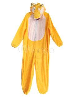 Пижама Кигуруми Желтый Дракон