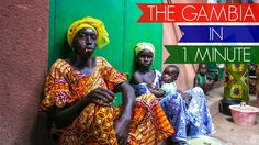 BEST TRAVEL: The Gambia in one minute - 2015 FULL HD