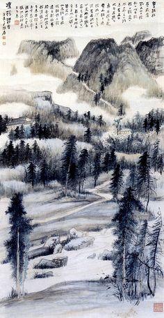 Zhang Daqian Paintings | Chinese Art Gallery | China Online Museum