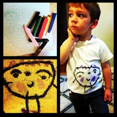 Wear Your Artwork! Custom T-shirts you and your Kids can make at Home!   I  Macaroni Kid