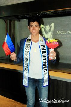 #TheTopModelFromBacolor : Miami-Bound by iamdencio  Mister Model International Philippines 2015 Arcel Yambing Send Off.