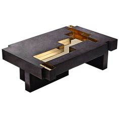 'Bronze Age' Coffee Table | From a unique collection of antique and modern coffee and cocktail tables at http://www.1stdibs.com/furniture/tables/coffee-tables-cocktail-tables/