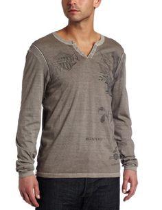Buffalo by David Bitton Men's Nebam Knit Henley Shirt