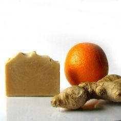 Gyömbér-narancs kecsketejes szappan 2