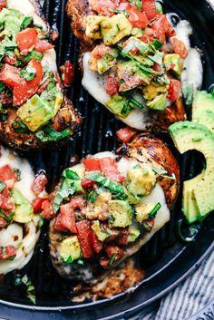 Grilled California Avocado Chicken 2
