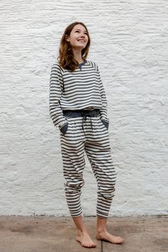 Inspired by Scandinavian simplicity and minimalist design, noctu's ethos is to make beautiful and comfortable nightwear using the softest organic fabrics made to exceptionally high standards by skilled seamstresses in the U. Sustainable Clothing Brands, Ethical Clothing, Ethical Fashion, Cotton Nightwear, Cotton Pyjamas, Slow Fashion, Lounge Wear, Organic Cotton, Harems