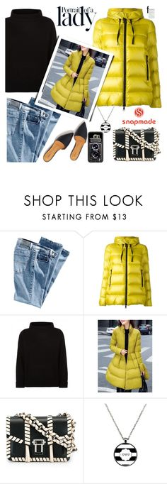 """""""SNAPMADE NO.13"""" by tfashionspeaks ❤ liked on Polyvore featuring Moncler, Jaeger, Proenza Schouler, Inez & Vinoodh and Samsung"""