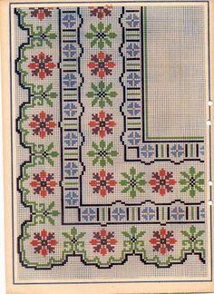 Brilliant Cross Stitch Embroidery Tips Ideas. Mesmerizing Cross Stitch Embroidery Tips Ideas. Cross Stitch Borders, Cross Stitch Flowers, Cross Stitch Designs, Cross Stitching, Cross Stitch Embroidery, Embroidery Patterns, Hand Embroidery, Cross Stitch Patterns, Doily Patterns