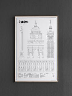 London Elevations by studio esinam