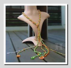lariat necklace ch0316B - Retro Lariat