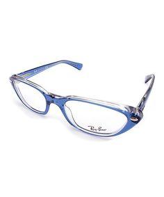 Look what I found on #zulily! Blue Cat-Eye Eyeglasses #zulilyfinds