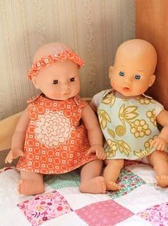 dolly clothes, with links to more dolly stuff...must get my self a baby doll