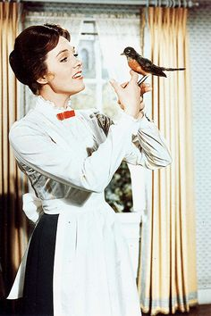 Mary Poppins - I need to watch this soon.. Been to long with out Mar-ee Popp-pens;)