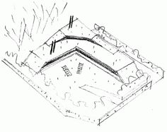 Image 13 of 13 from gallery of House on a Hillside / Virgilio Gutiérrez Herreros. Conceptual Sketches, Drawing Sketches, Model Sketch, Architecture Drawings, Diagram, House, Models, Gallery, Image