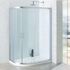 Concept Offset Quadrant Shower Doors