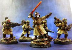 La taberna de Hlout-wig: Legión de acero: Escuadra de mando
