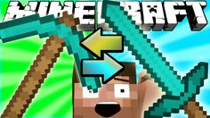 If Swords and Pickaxes Switched Places - Minecraft Minecraft Videos, Logos, Suddenly, Swords, Youtube, Places, Art, Art Background, Logo