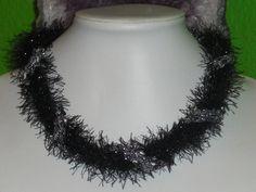 Textilschmuck - Collier * DIVA * - ein Designerstück von lilly10 bei DaWanda