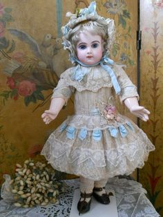 french bebes | Most Beautiful Childlike French BeBe Dress with Bonnet ~~~ from ...
