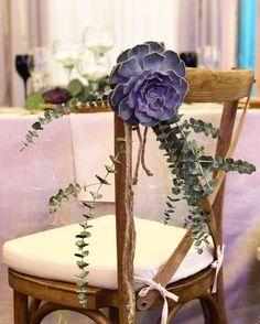 Pilgrim Chair Suculent and Eucalyptus Decor Atelier Dual Romania #atelierdual