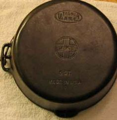 Wagner and Griswold came under the same ownership in 1957 Cast Iron Care, Cast Iron Pot, Cast Iron Dutch Oven, Cast Iron Skillet, Cast Iron Cookware, Cast Iron Cooking, It Cast, Lodge Dutch Oven, Wagner Cast Iron