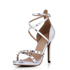 Sexy Retro Gladiator Heeled Sandals Women Stud Fashion Stiletto Pumps Strap DolphinGirl Shoes Prime -- More info could be found at the image url.