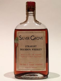 Silver Grove Bourbon 1917/1933   Another curious bourbon from Ohio, this one was bottled by the George T. Stagg Co and distilled by Edward H. Brinkman in Cincinnati. | LA Whisky Society
