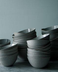Herriot Grace stoneware + porcelain bowls