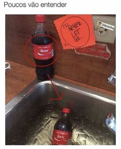 Funny memes Titanic sponsored by Coca-Cola. LOL It's the titanic all over again. And my middle name is ROSE. Not even kidding.
