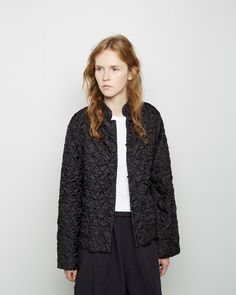 Comme Des Garcons, Blazer, Coat, Sweaters, How To Wear, Jackets, Clothes, Women, Fashion