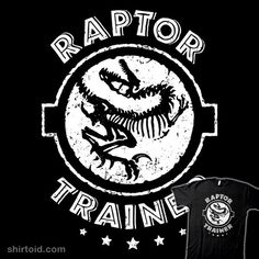 """Raptor Trainer"" by Baz Masrani Global Corporation Employee Inspired by Jurassic World Words Wallpaper, Geek Shirts, Jurassic Park World, Trainers, Cricut, Men's Apparel, Gift Baskets, Animal Kingdom, Jurassic Park"