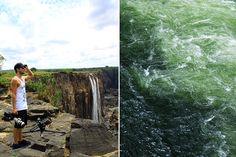 On the Zambian side of the Victoria Falls, next to Livingstone Island, you'll find Africa's most dangerous infinity pool - the Devil's Pool. Livingstone, Victoria Falls, Bird Watching, Rafting, Canoe, Cruise, Southern, Africa, Island