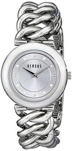 # Versus-by-Versace-Womens-SOE010014-Brickell-Analog-Display-Quartz-Silver-Watch-0