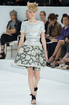 Chanel and Dior are inspired by Marie Antoinette and the Petit Trianon in their 2014 collections.