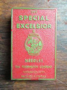 TORRINGTON Excelsior 16x6 Sewing Machine Needles Sz 13 Qty 98 Leather | eBay