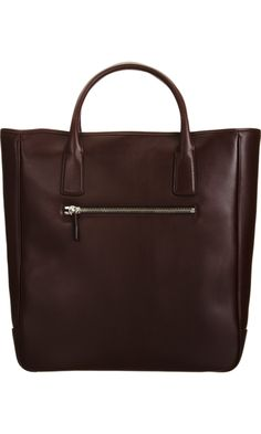 BNY Brown Leather Tote