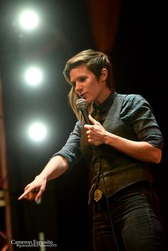 Cameron Esposito @ the Granada Theater in Dallas Tx Cameron Esposito, Butch Style, Butch Fashion, The Adventure Zone, Show Photos, Crochet Designs, Granada, Tomboy, Life Goals