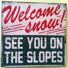 Ski Signs for the Cabin