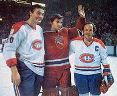 In 1975 the Red Army came to Montreal on New Year's Eve, the now legendary game between two of the finest clubs ever, both in mid-season form, as the eventual 1975 champion Canadiens, who were on the verge of a dynasty, skated to a 3-3 tie with the Soviets in what many call the greatest game ever played, as Tretiak held off the NHLers despite being outshot 38-13.