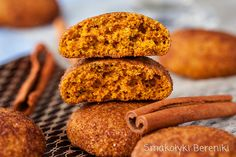 Pumpkin snickerdoodles (in Polish) Cinnamon Cookies, Pumpkin Cookies, Pumpkin Spice, Pumpkin Snickerdoodles, Food Pictures, Food To Make, Meal Planning, Cake Recipes, Delish