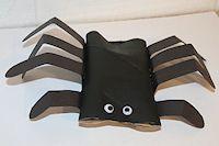 Hand Print Spider Craft