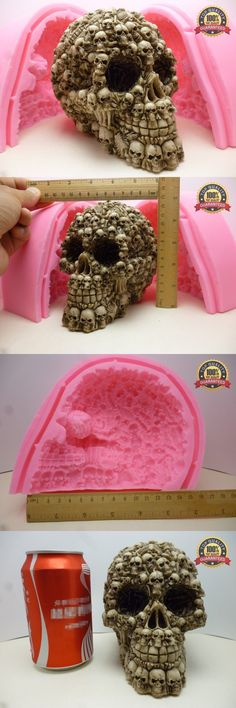 Sugarcraft and Chocolate Molds 177011: 3D Super Skull Fondant Cake Mold Silicone Mold Chocolate Mold Soap Soap Candles -> BUY IT NOW ONLY: $130 on eBay!