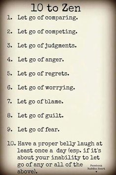 "This week's class theme in Body Positivity Yoga is ""Letting Go"". Here's some things you can let go of..."