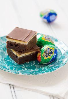 what? a brownie that tastes like a cadberry egg?! magic.